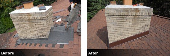 Roof Repair Before and After